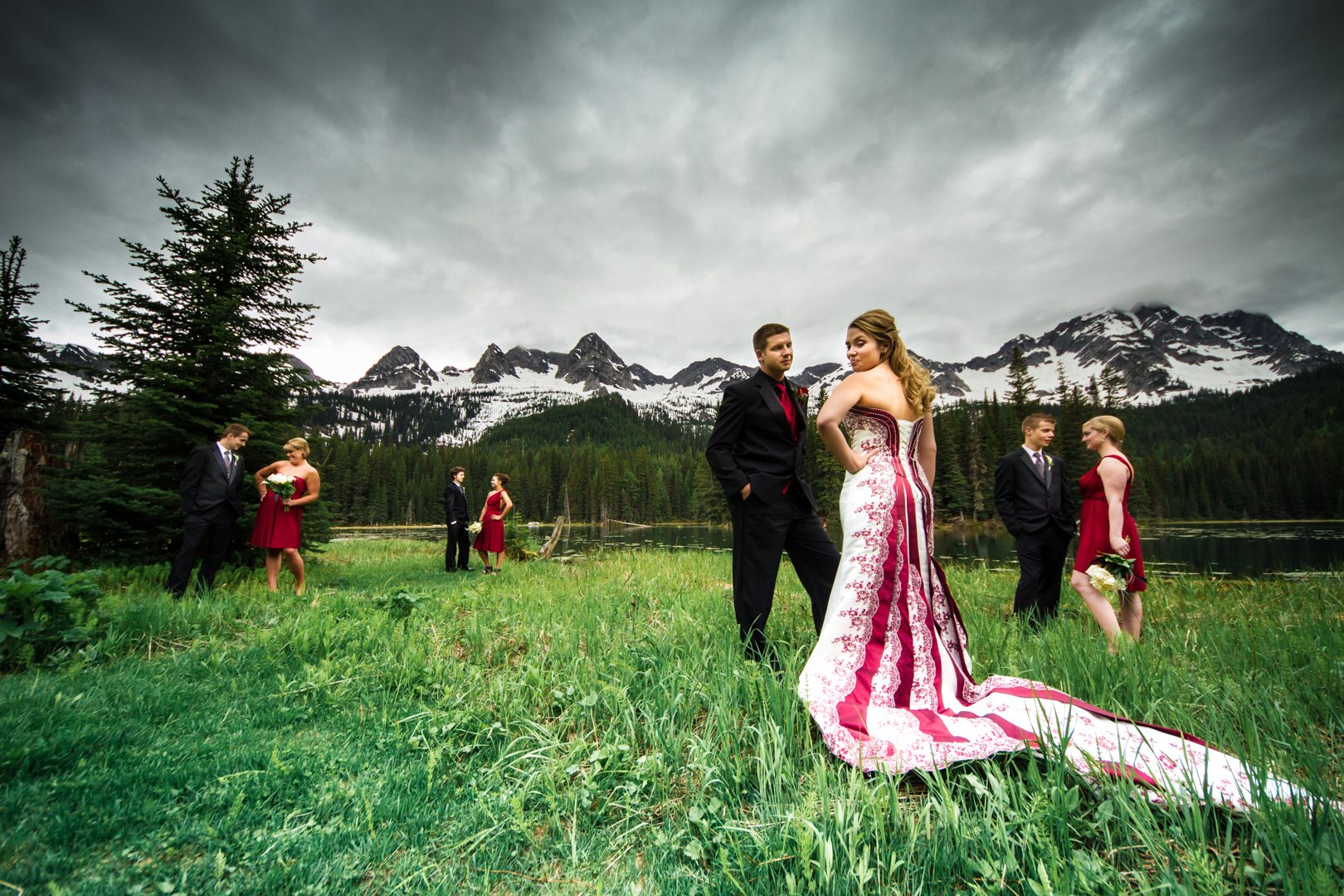 Island Lake Lodge, Fernie B.C Wedding Photos